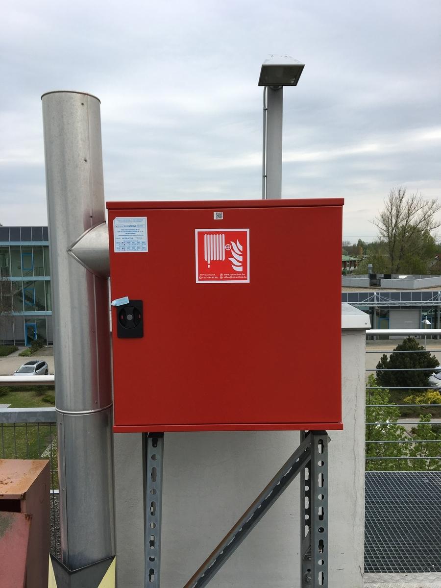 Ellenőrzött tűzoltó készülék